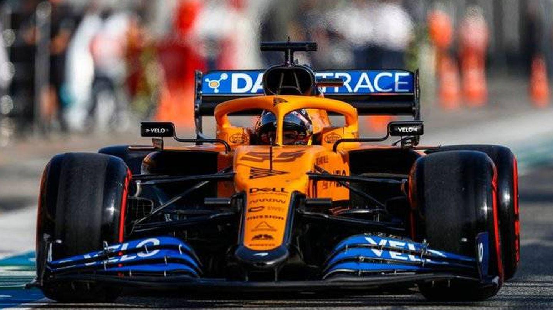 Sainz y McLaren intentaron utilizar las paradas en boxes para adelantar ante la complicada configuración de Imola. (McLaren)