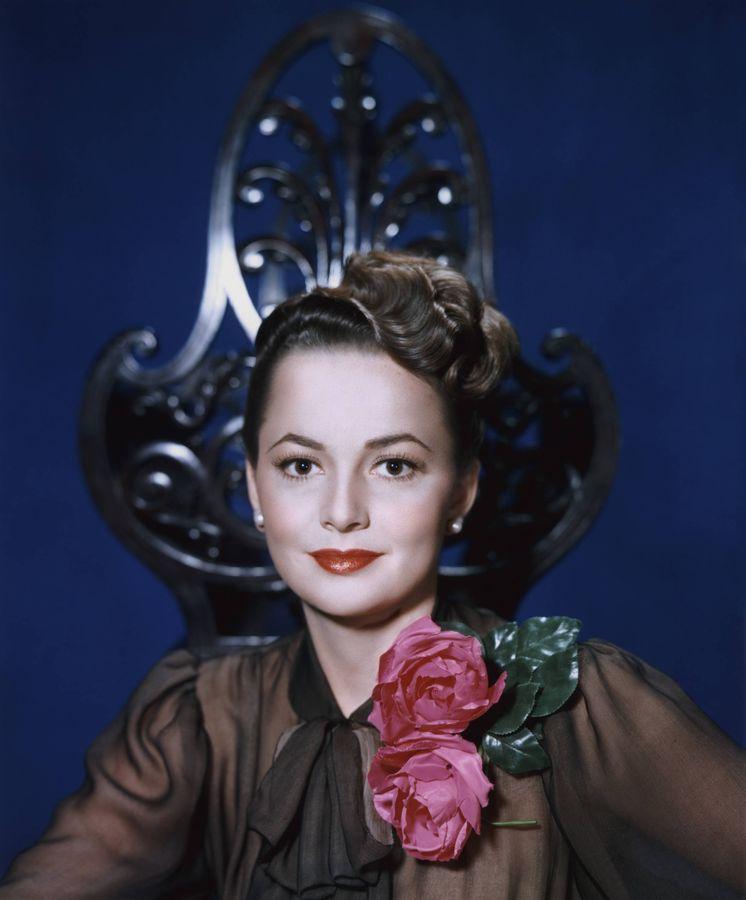 Foto: Olivia de Havilland en una imagen de 1944. (Gtres)