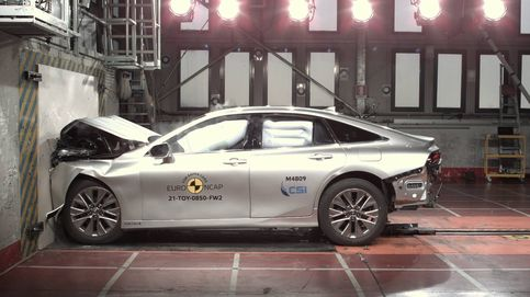Pleno de estrellas en seguridad en cinco modelos probados por EuroNCAP