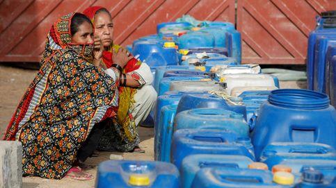 Distribución de agua en la ciudad de Orangi