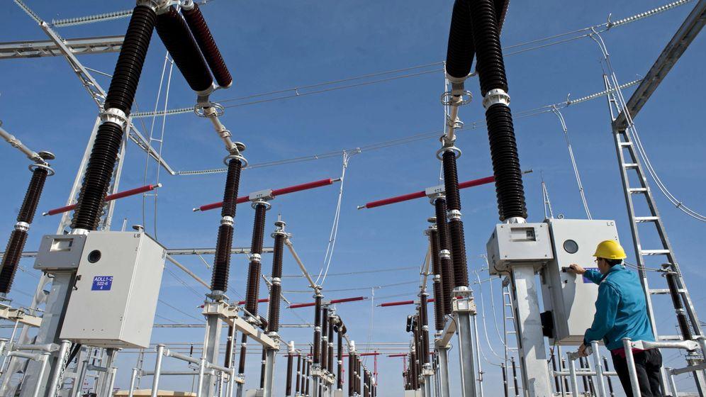 Foto: Una subestación de Red Eléctrica de España. (EFE)