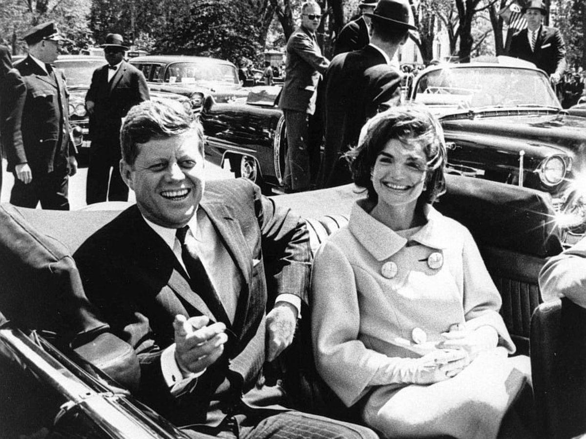 Foto: El presidente estadounidense John F. Kennedy y su mujer Jackie. (EFE)