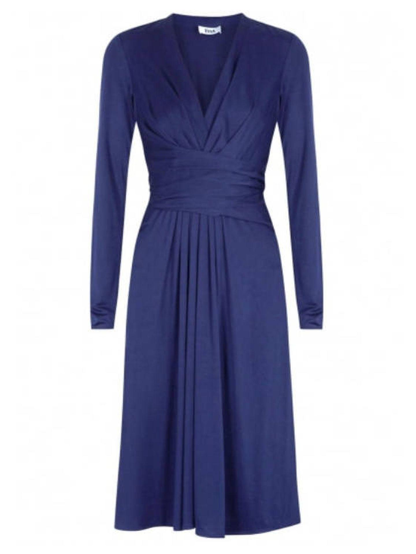 El vestido de Issa London. (Cortesía)