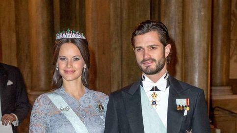 Nueva cena de gala en Suecia y misma tiara para la princesa Sofía