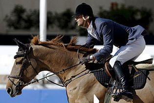 Foto: El constructor Santamaría también regaló a Bono caballos para su hípica