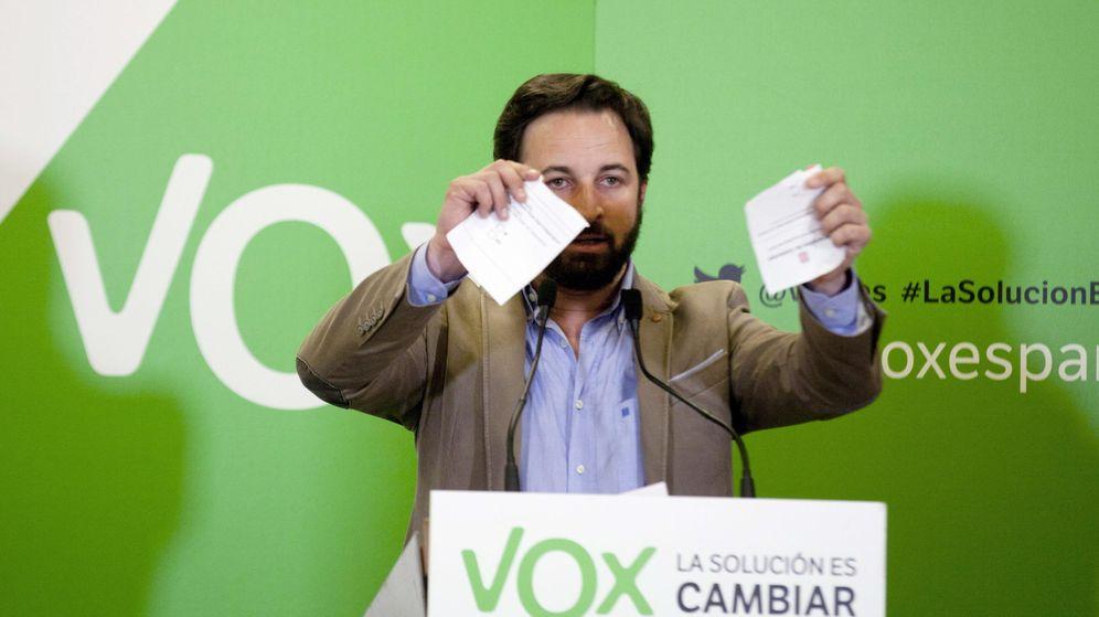 Foto: El secretario general de Vox, Santiago Abascal. (Efe)