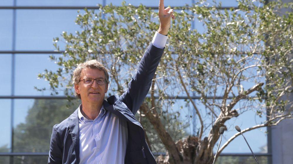 Foto:  El presidente de la Xunta, Alberto Núñez Feijóo (EFE)