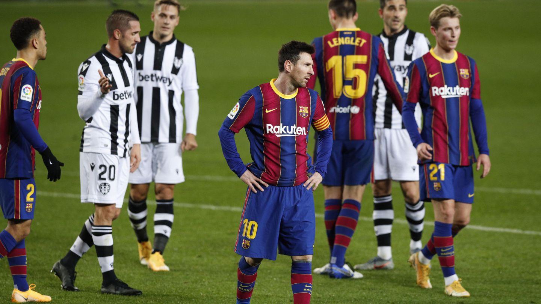 Messi, en plena jugada. (EFE)