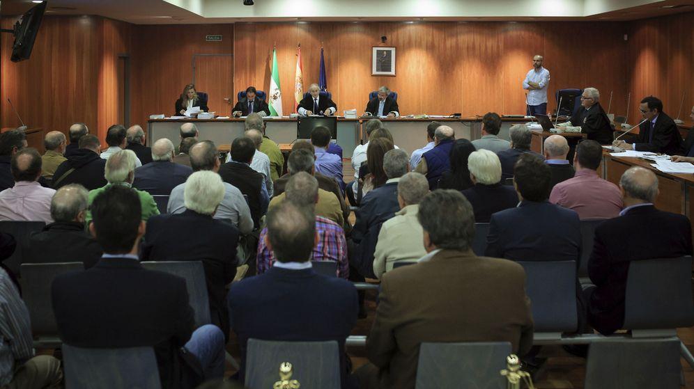Foto: Juicio por corrupción. (EFE)