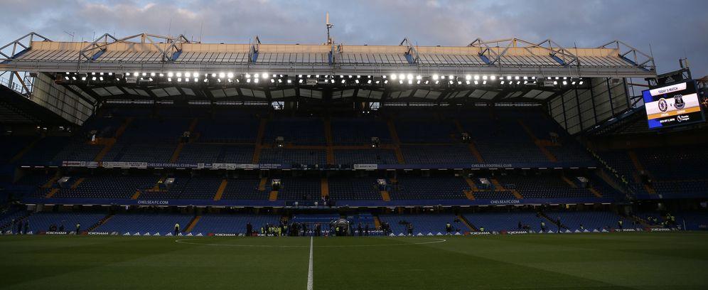 Foto: Vista panorámica de Stamford Bridge (Reuters)