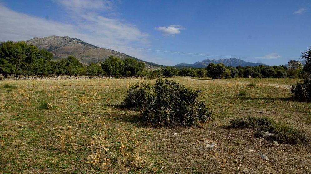 Foto: La parcela de Los Molinos donde está prevista la construcción del campo de fútbol.