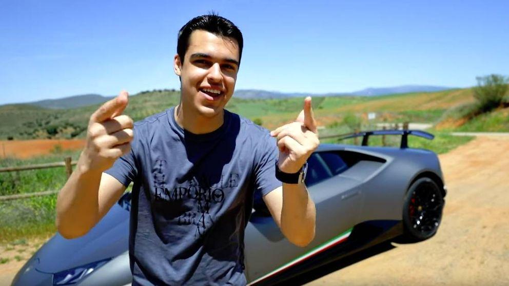 'Youtuber', 22 años y detenido por conducir a 230km/h en Lamborghini por Algete