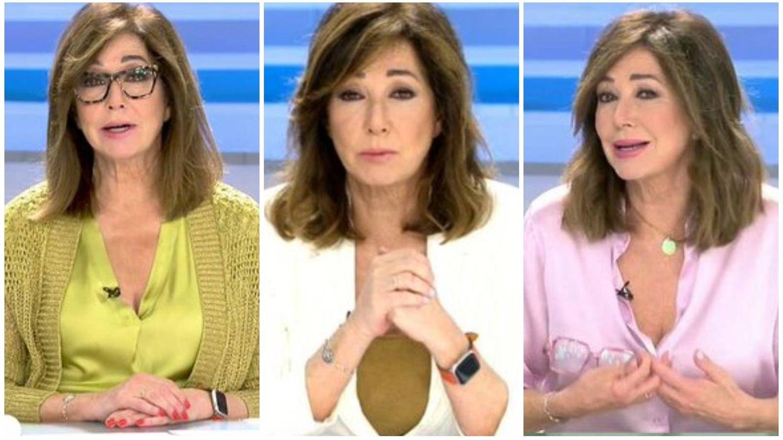 Nos fijamos en las manicuras de Ana Rosa Quintana en su programa. (Mediaset)