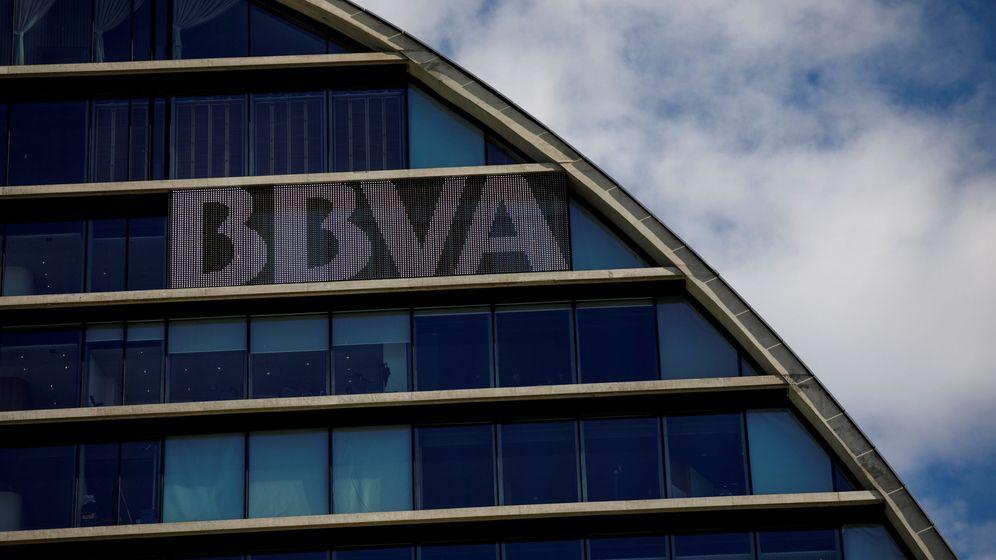 Foto: Sede del BBVA en Madrid.