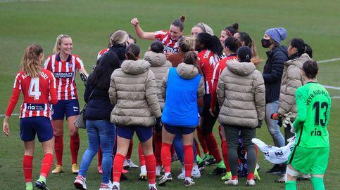 El Atlético se impone en el primer derbi femenino ante el Real Madrid