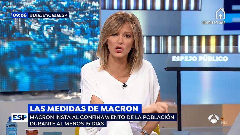 Susanna Griso, en el programa 'Espejo público'. (Atresmedia)