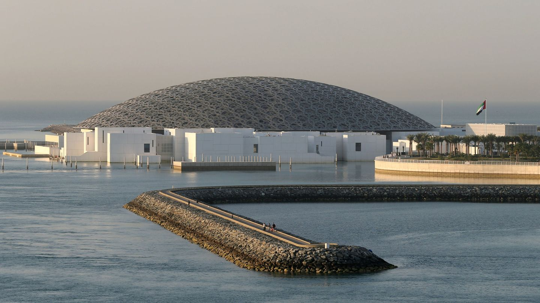 El Louvre Abu Dhabi Museum, en los Emiratos Árabes Unidos. (Reuters)