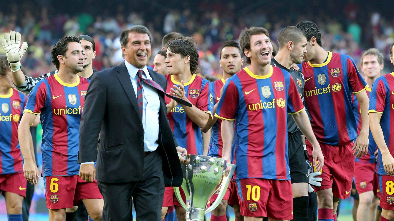 La receta de Laporta para retener a Messi: contrato de por vida a cambio de una rebaja