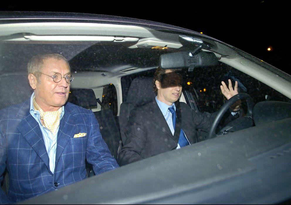 Foto: El abogado Javier Saavedra y Javier Rigau en una imagen de archivo (Gtres)