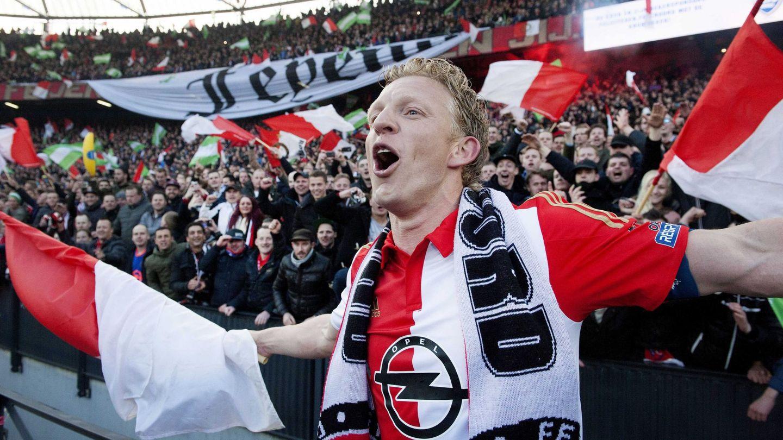 Dirk Kuyt es el líder del Feyenoord Reuters (EFE)