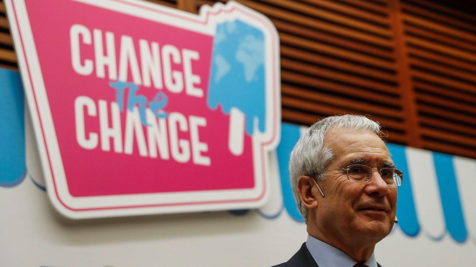 Foto: Nicholas Stern en la Conferencia Internacional sobre el Cambio Climático 'Change the change' de San Sebastián. (EFE)