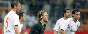 Foto: Edu da el triunfo al Valencia en el debut de Unai Emery