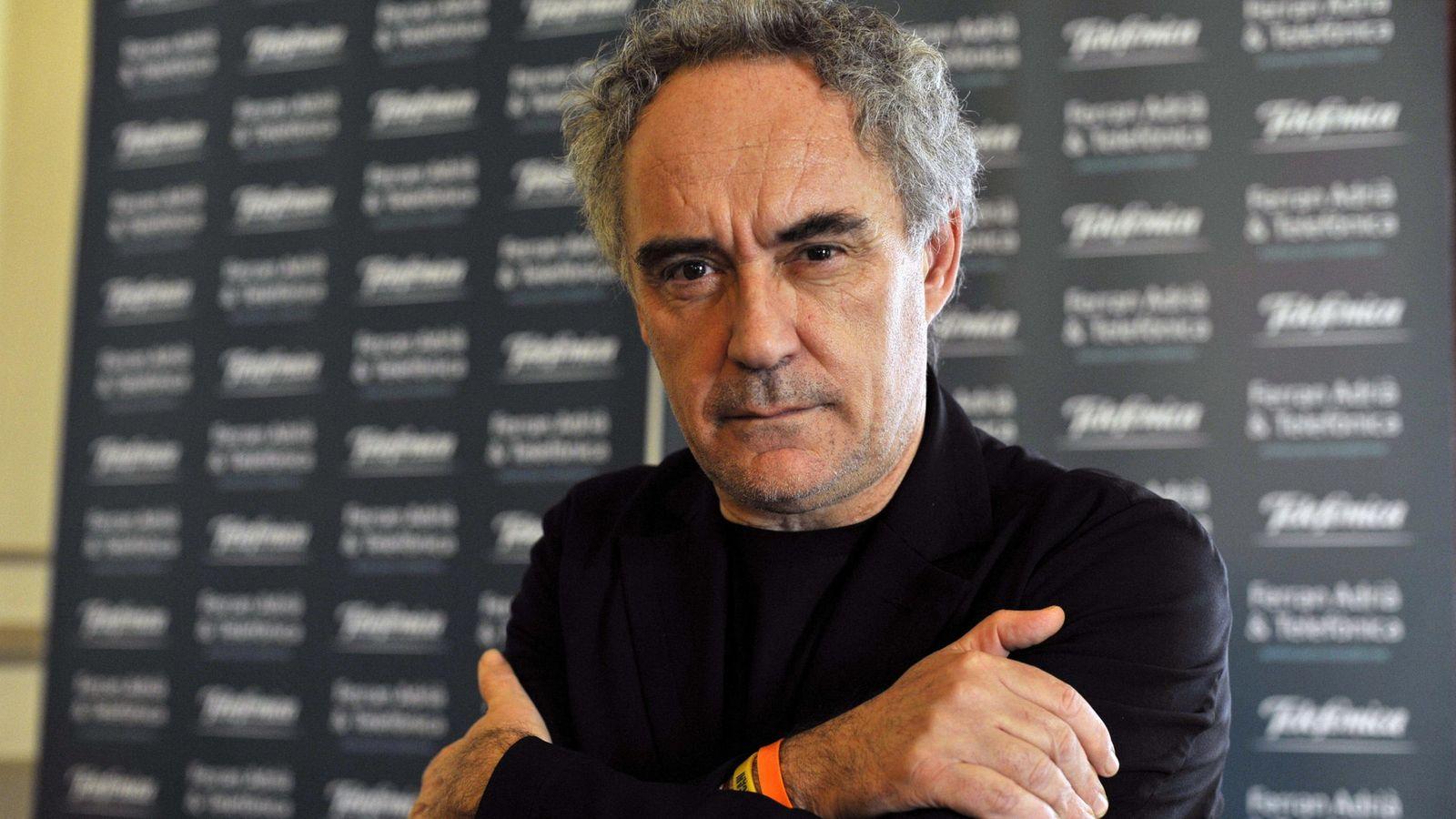 Foto: Ferran Adrià, nuestro más reputado cocinero. (EFE/Domenech Castelló)