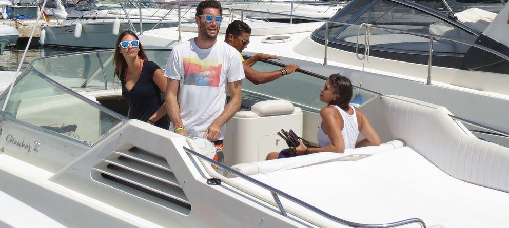 Foto: Helen Lindes y Rudy Fernández este mes de julio en Ibiza. (I.C.)