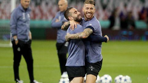 Sergio Ramos y Dani Carvajal: duelo de estilo, tallas y pullitas