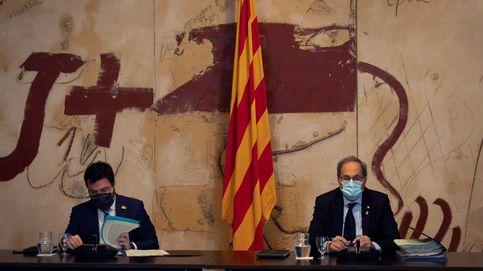 Aragonès pide una respuesta conjunta al independentismo si Torra es inhabilitado