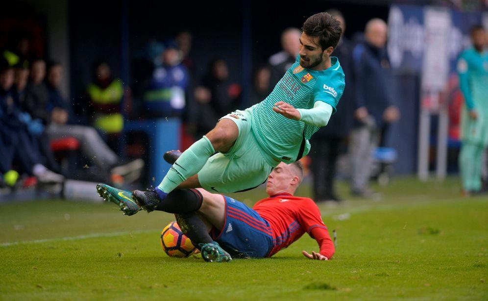 Foto: Andre Gomes, en un partido de esta temporada. Reuters)