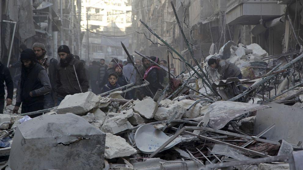 Alepo, una ciudad reducida a escombros