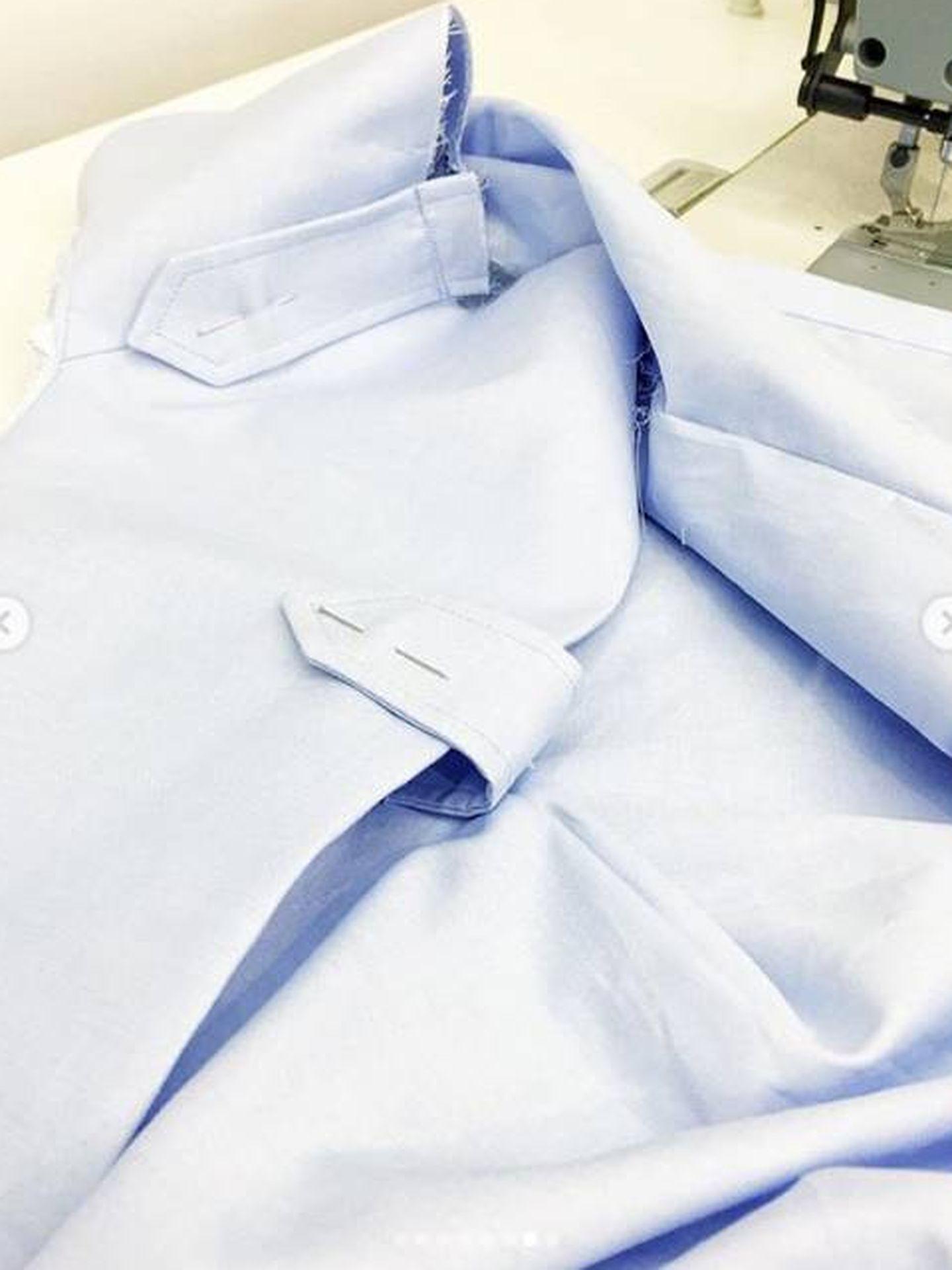 Proceso de creación de la camisa. (Imiloa)