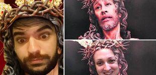 Post de Tranquilo, ahora no te puede pasar nada si subes un montaje de Cristo con tu cara