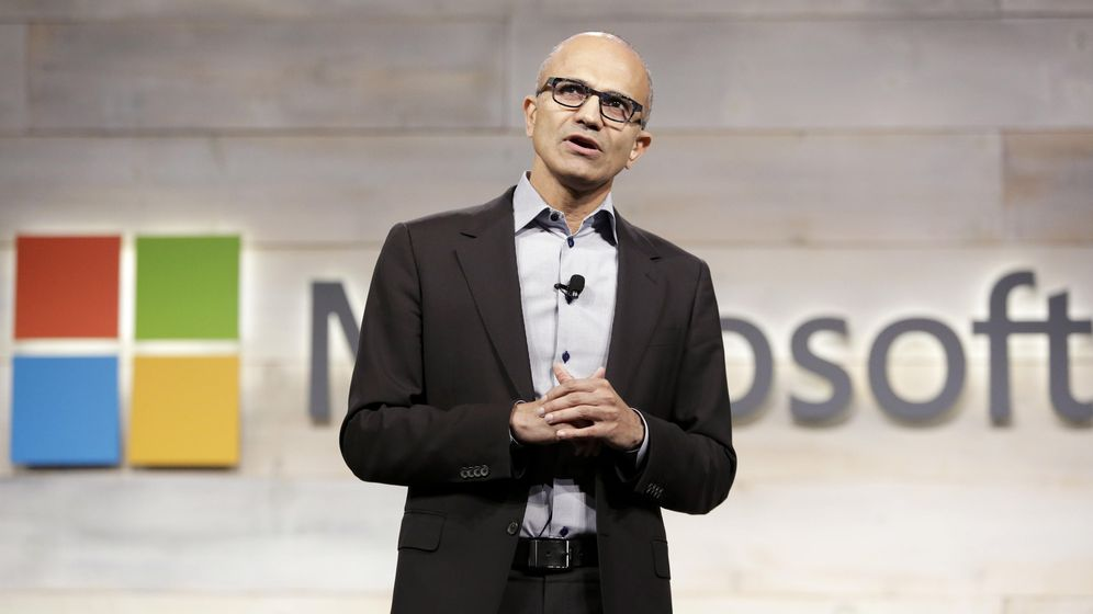 Foto: Satya Nadella, CEO de Microsoft (Reuters)