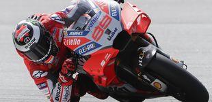 Post de La nueva sonrisa de Jorge Lorenzo: el más rápido y con una Ducati a su medida