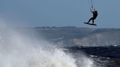 Kite surf en Gales