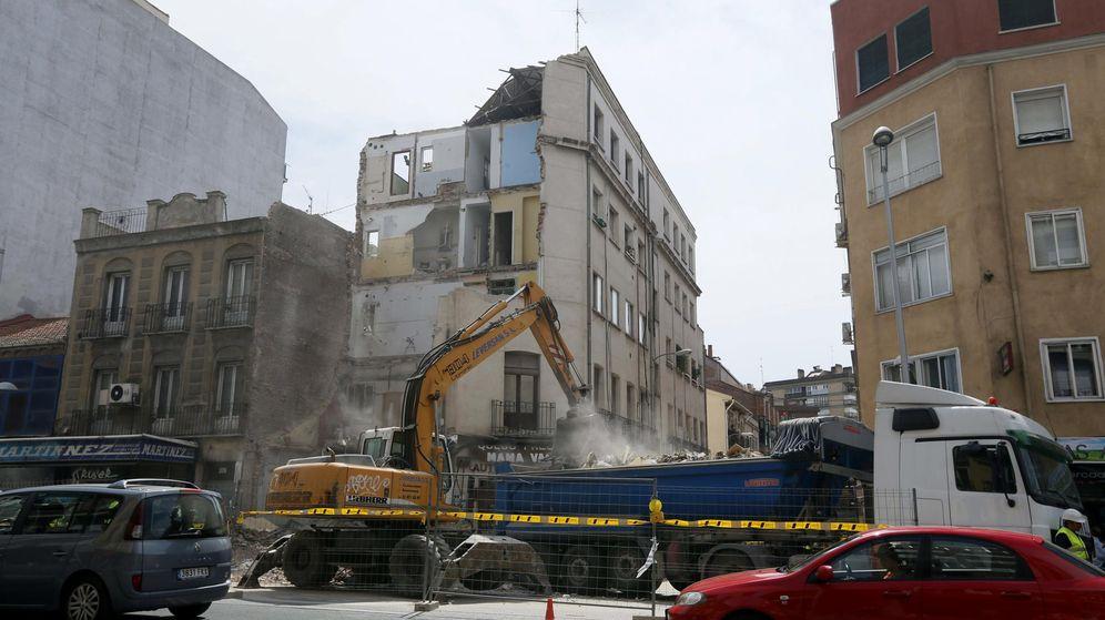 Vivienda no fue el pilar el edificio de tetu n se for Edificio de la comunidad de madrid