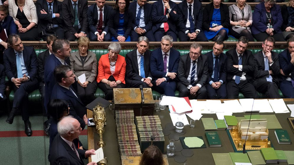 Foto: Bancada conservadora en Westminster. (Reuters)