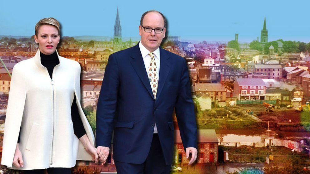 Dos turistas llamados Alberto y Charlène: sus vacaciones en Irlanda