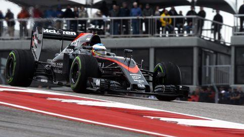 Alonso, a un segundo y cuatro décimas de Mercedes bajo una pista deslizante