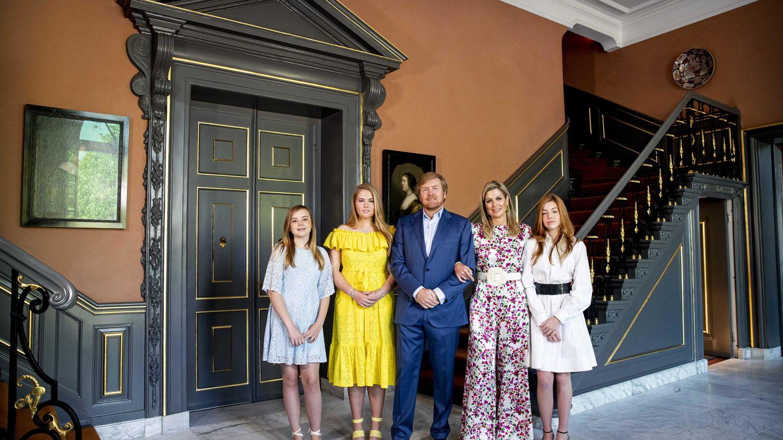 La familia real de Holanda, al completo. (EFE)