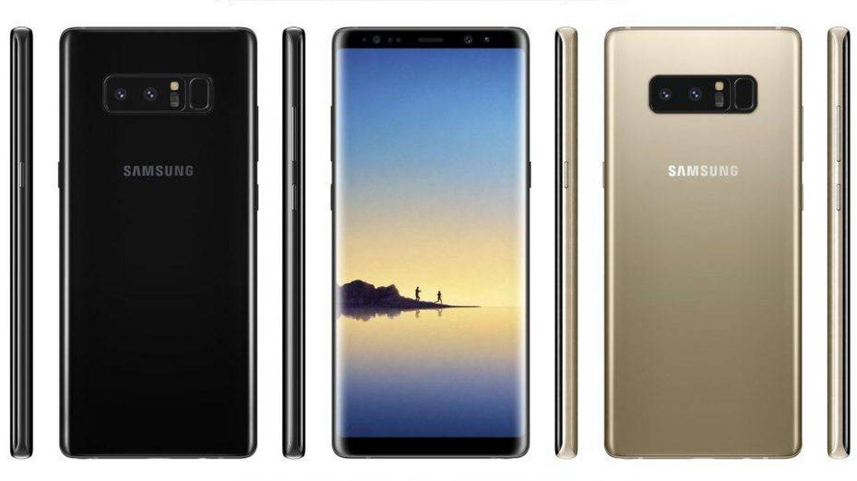 Filtrado al completo el Galaxy Note 8: así será el próximo gran smartphone de Samsung