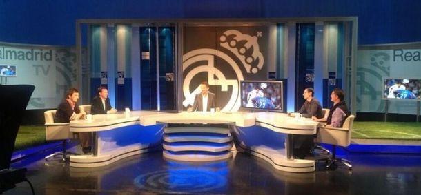 Foto: Plató de Real Madrid TV.