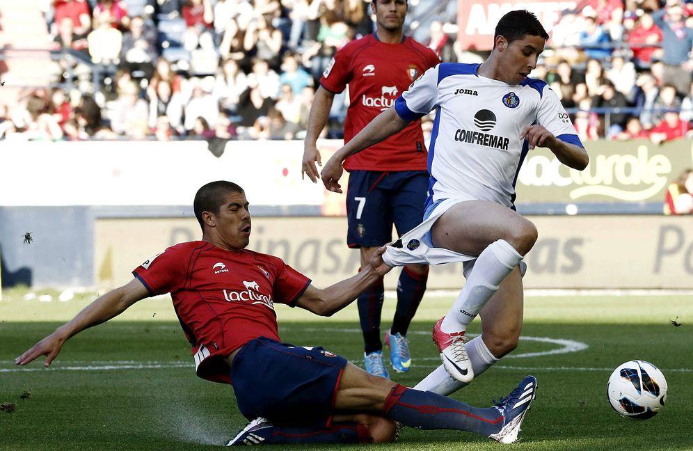 Foto: Ángel Vizcay afirmó que Osasuna pagó 400.000 euros al Getafe para que se dejara ganar en mayo de 2013. (EFE)