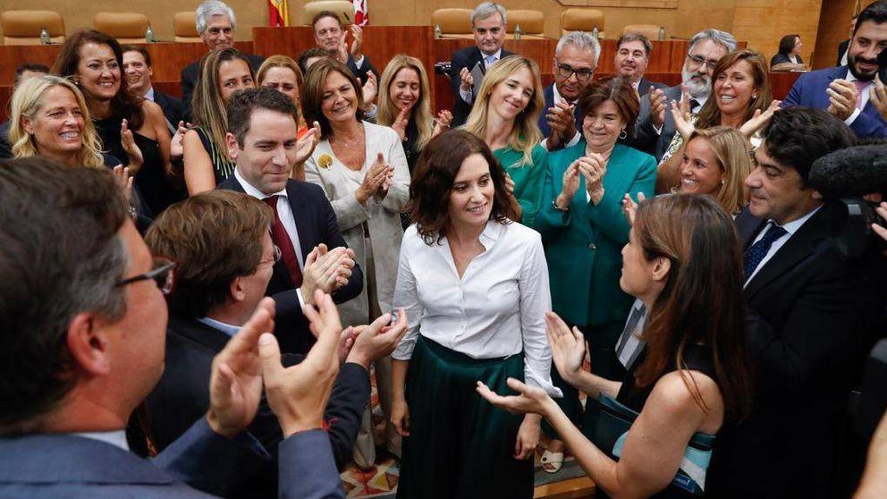 La presidenta Ayuso busca perfil propio con Errejón como 'líder de la oposición'