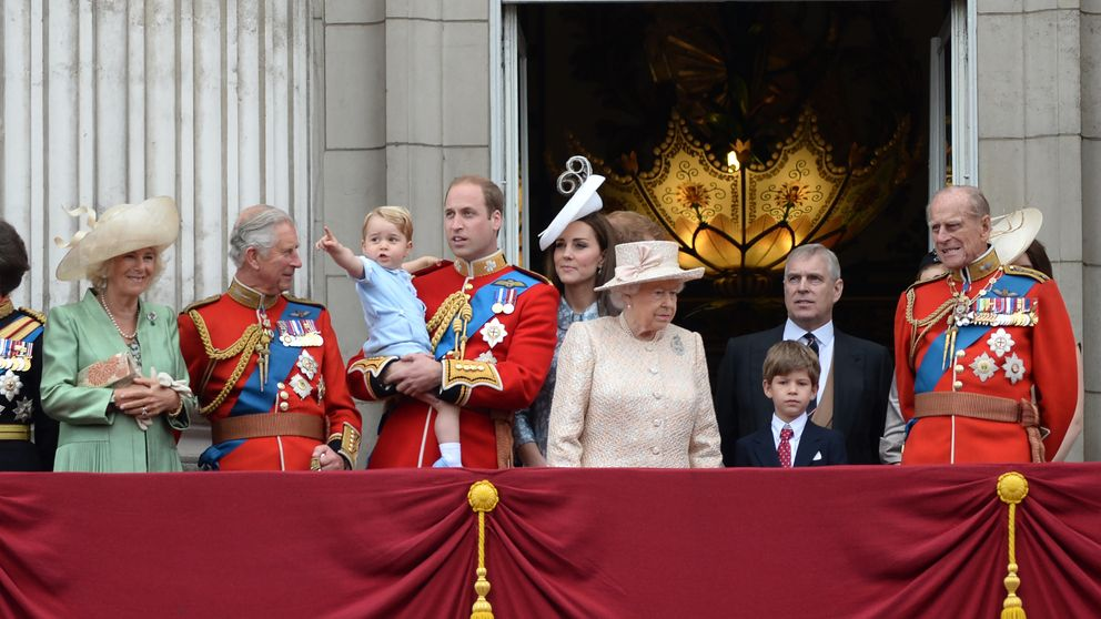 La reaparición de Kate Middleton y la presencia de George marcan el Trooping the Colour