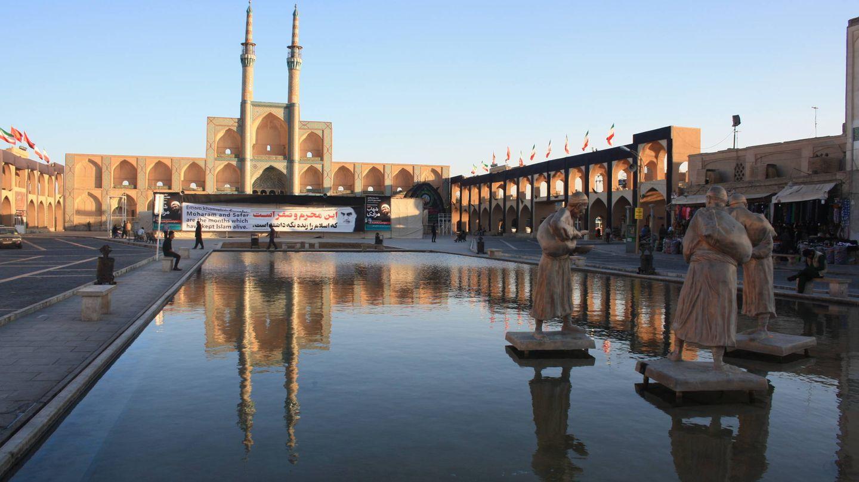 Plaza Mirchajma de Yazd.