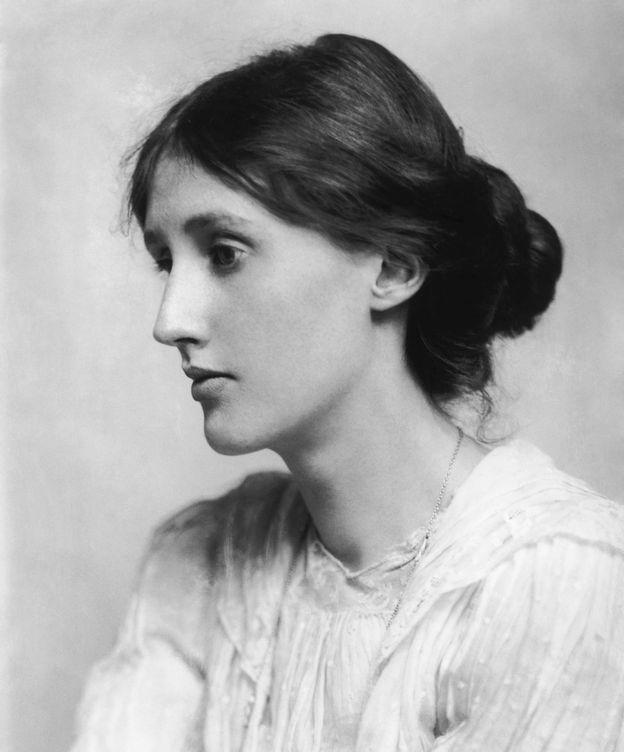 Foto: Virginia Woolf retratada por George Charles Beresford