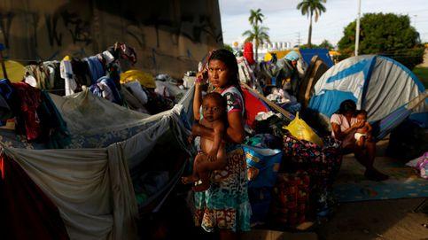 Los indígenas también huyen de Venezuela